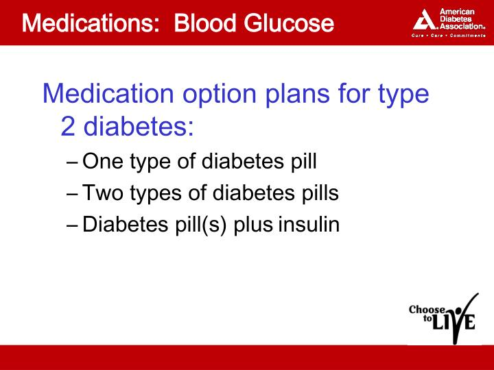 Medications:  Blood Glucose