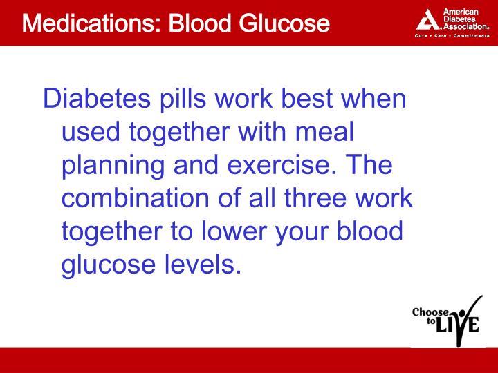 Medications: Blood Glucose