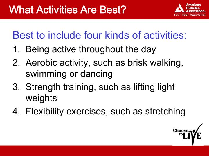 What Activities Are Best?