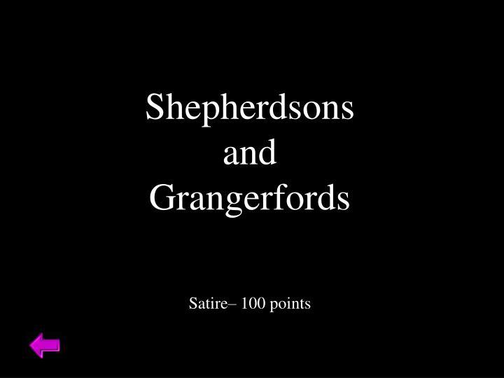 Shepherdsons