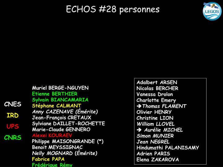 ECHOS #28