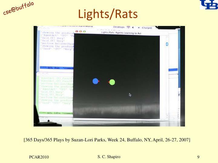 Lights/Rats