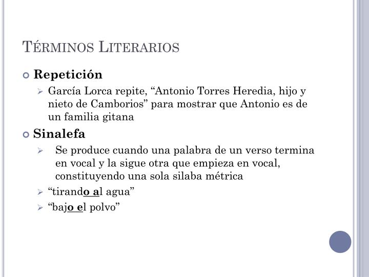 Términos Literarios