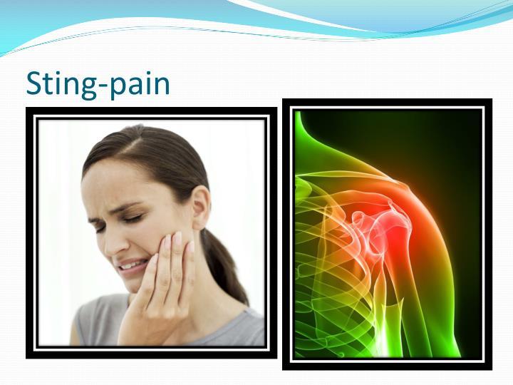 Sting-pain