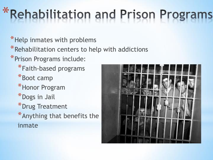 Help inmates with problems