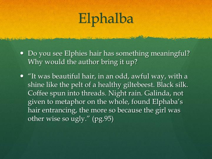 Elphalba
