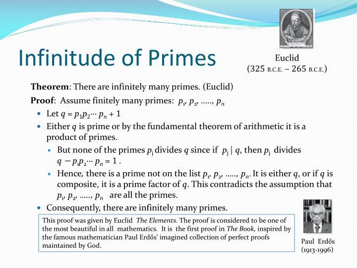 Infinitude of Primes