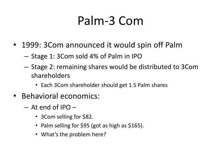 Palm-3 Com