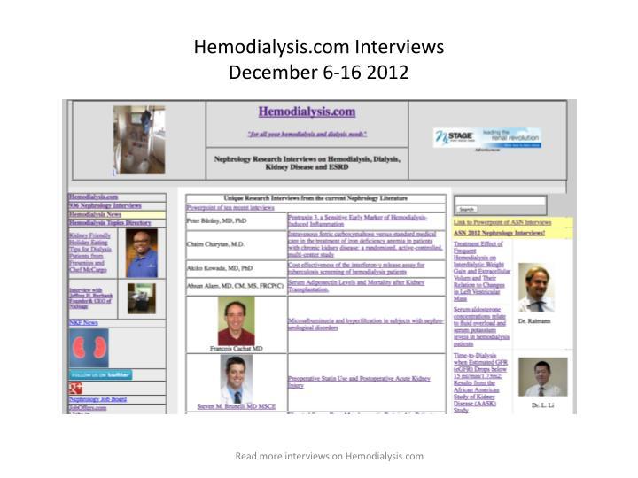 Hemodialysis.com