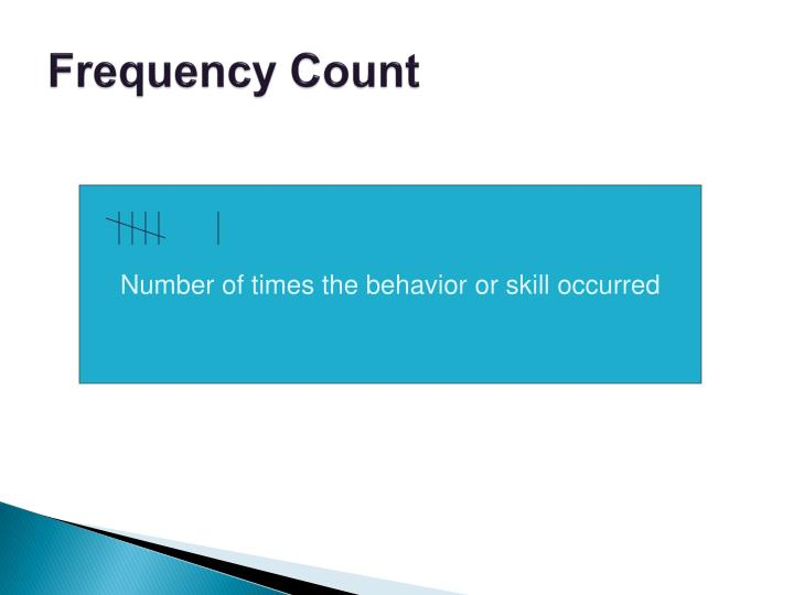 Frequency Count