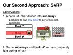 our second approach sarp