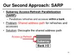our second approach sarp3