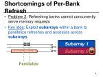 shortcomings of per bank refresh2