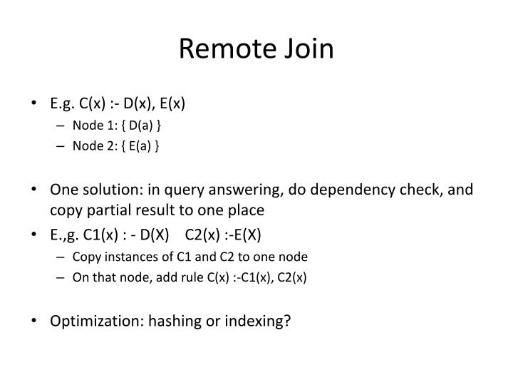 Remote Join