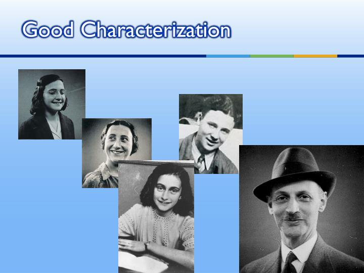 Good Characterization