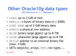 other oracle10 g data types sql reference ch 2 datatypes