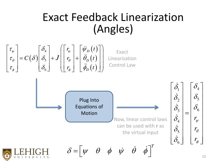 Exact Feedback Linearization