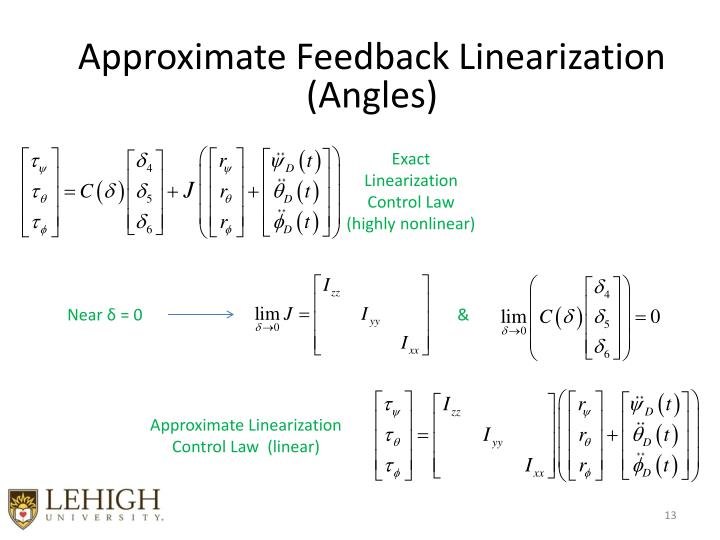 Approximate Feedback Linearization