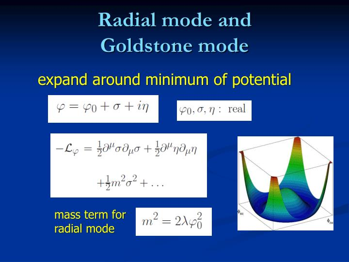 Radial mode and