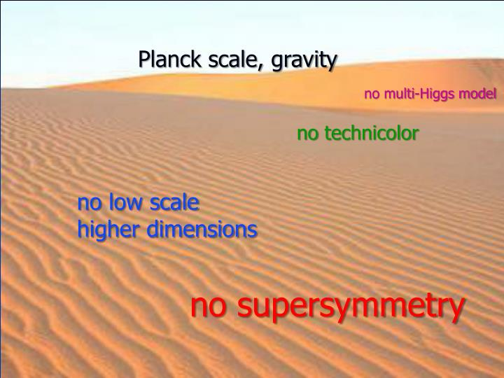 Planck scale, gravity