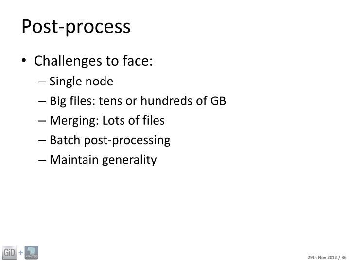 Post-process