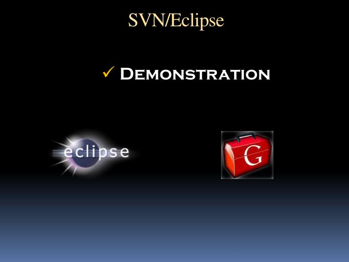 SVN/Eclipse