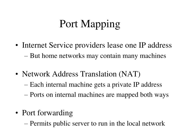 Port Mapping