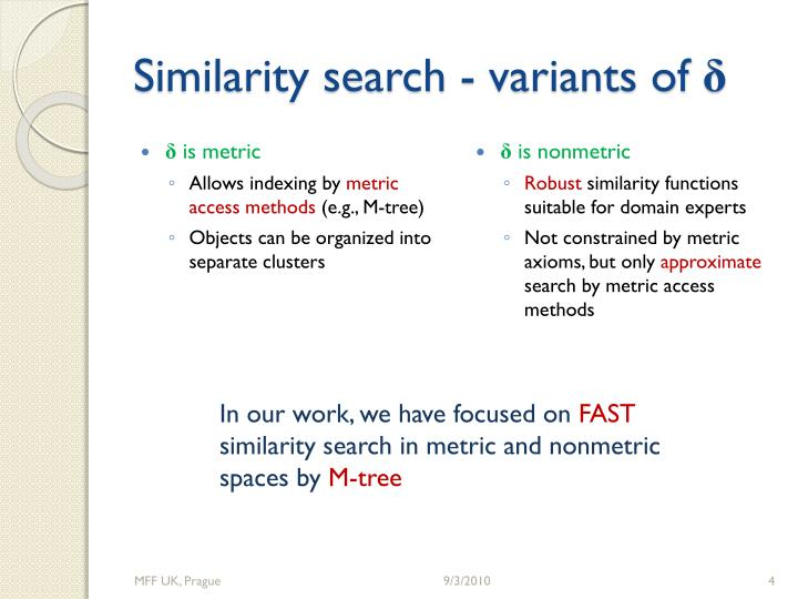 Similarity search -