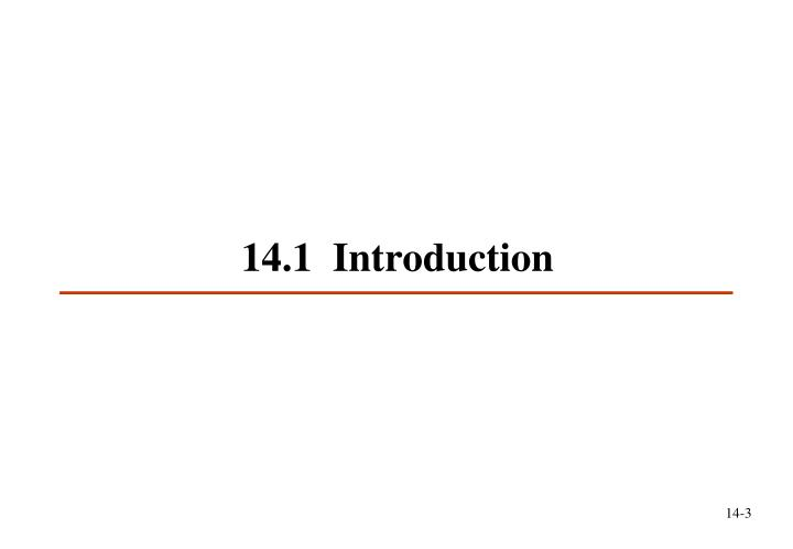 1 4 1 introduction