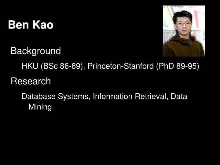 Ben Kao