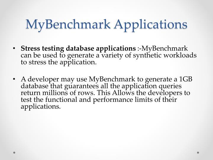 MyBenchmark