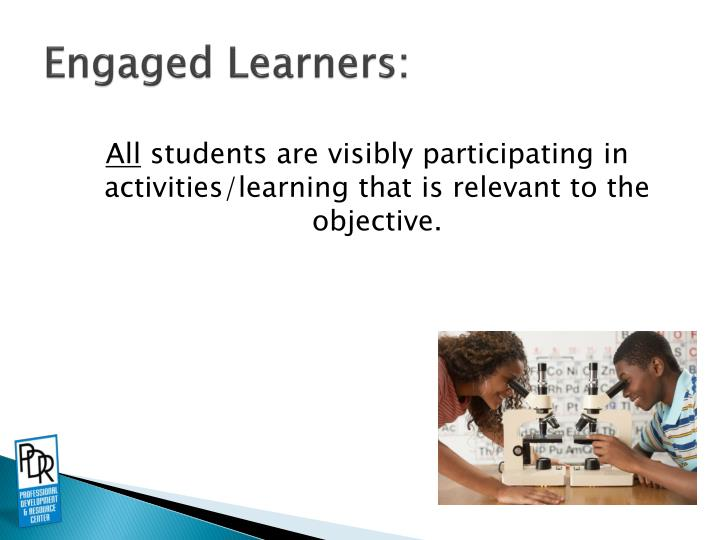 Engaged Learners:
