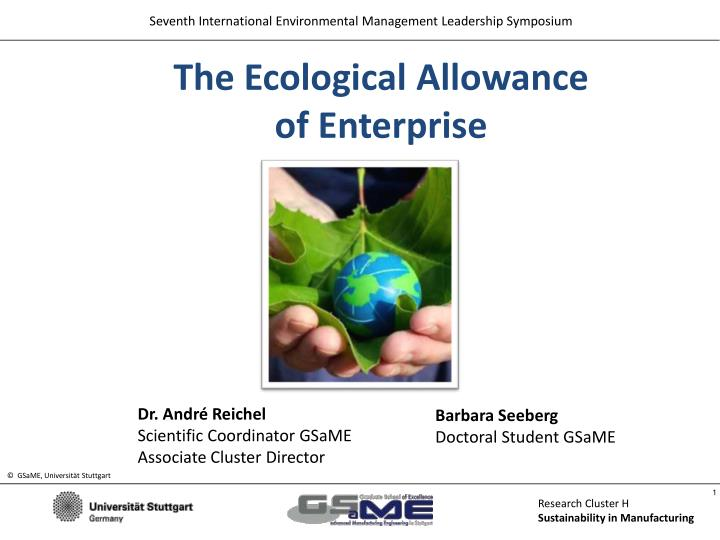 The Ecological Allowance