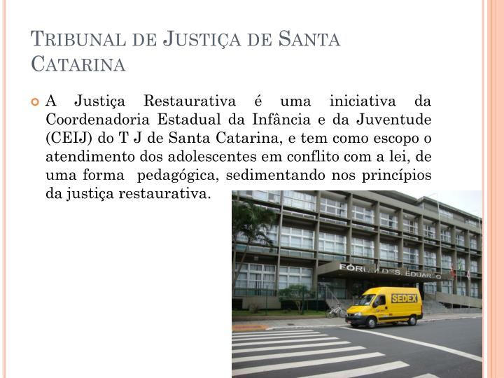 Tribunal de Justiça de Santa Catarina
