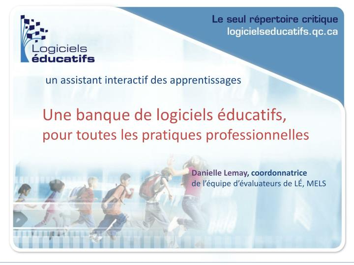 Un assistant interactif des apprentissages
