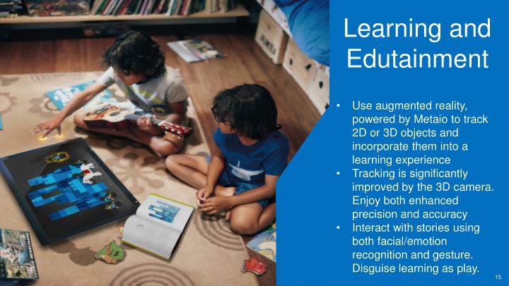Learning and Edutainment