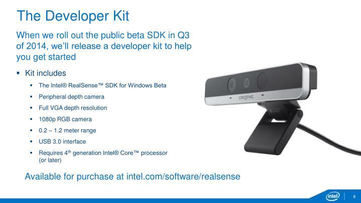 The Developer Kit