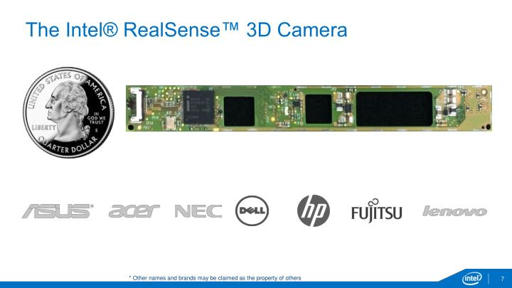 The Intel® RealSense™ 3D Camera