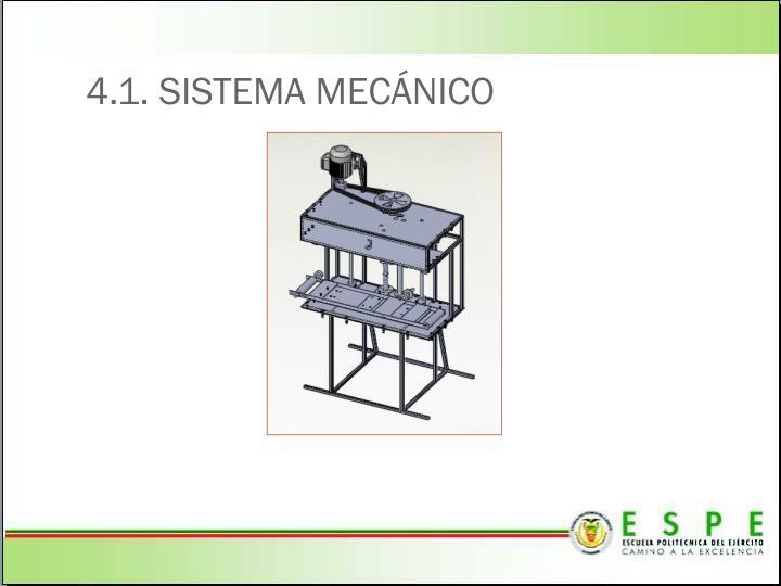 4.1. SISTEMA MEC