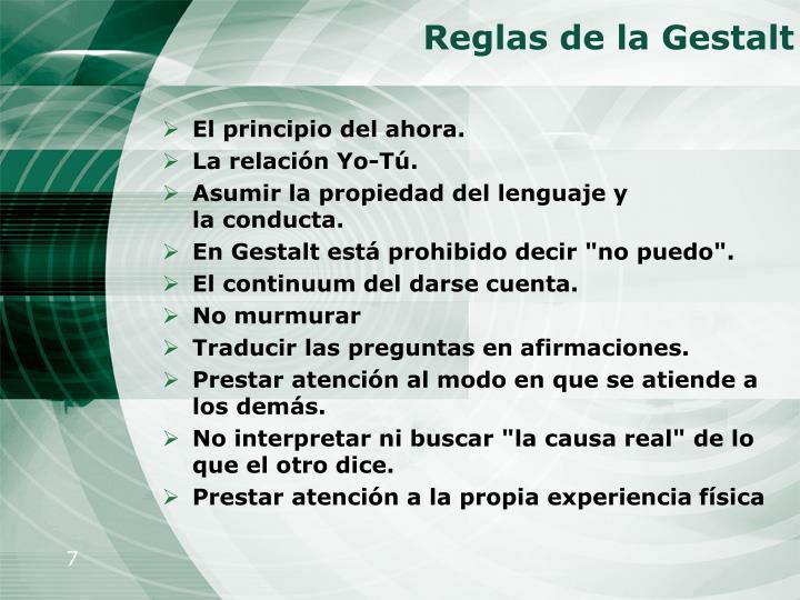 Reglas de la Gestalt