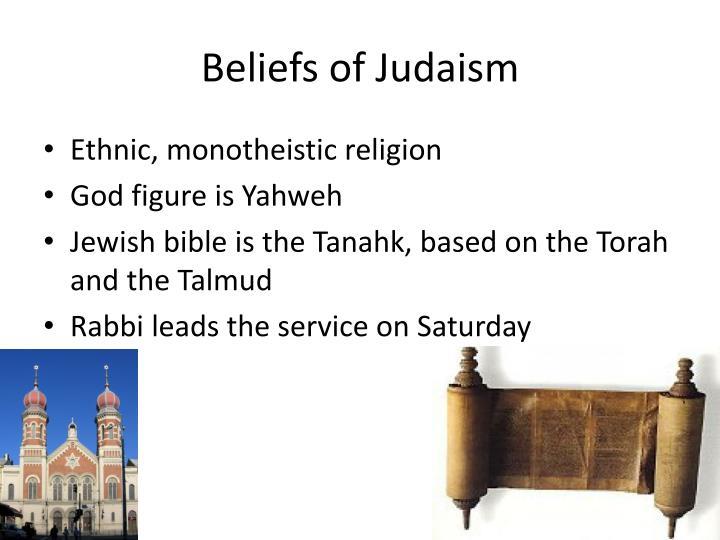 Beliefs of Judaism