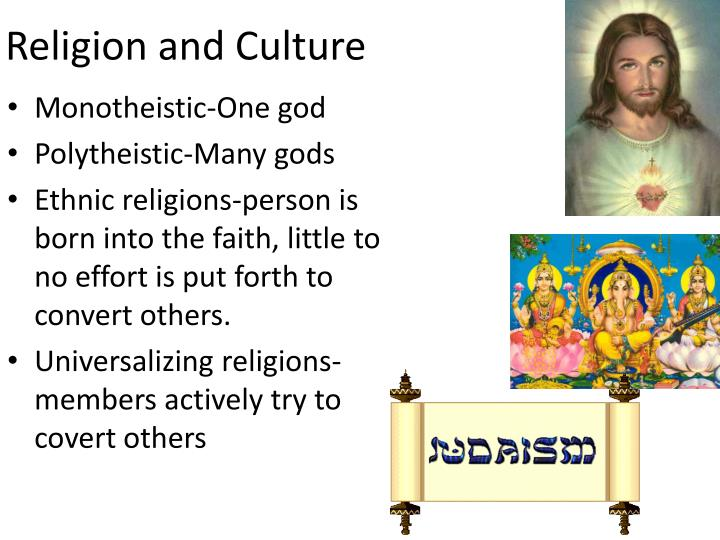 Religion and culture1