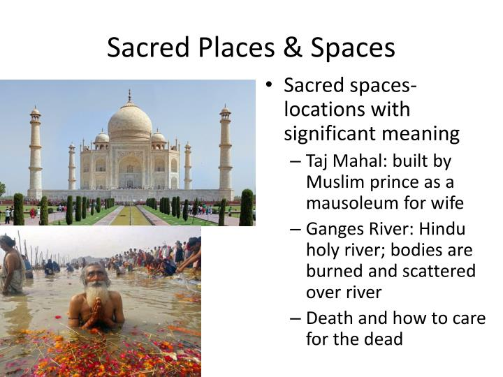 Sacred Places & Spaces