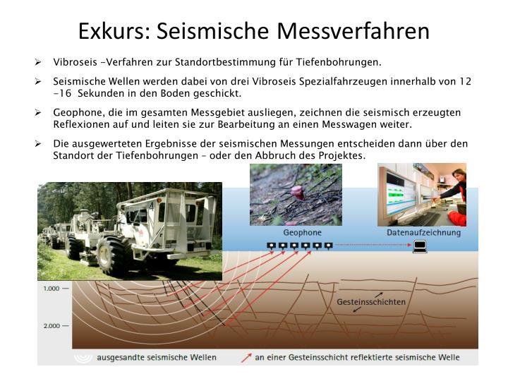 Exkurs: Seismische