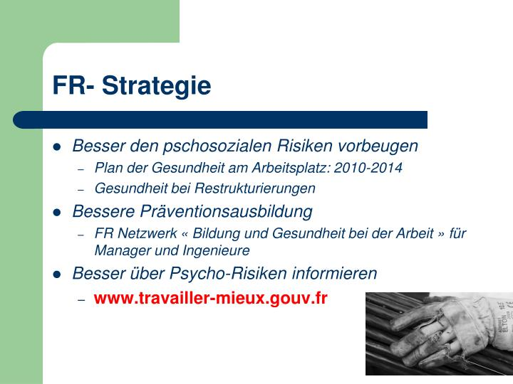 FR- Strategie