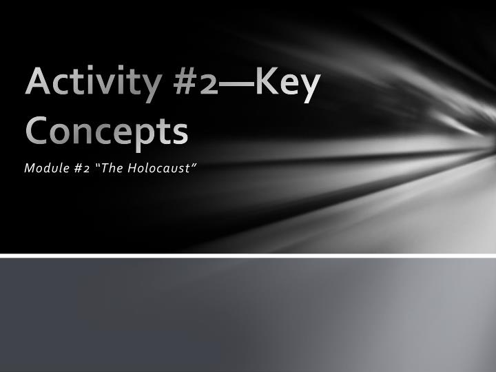 activity 2 key concepts