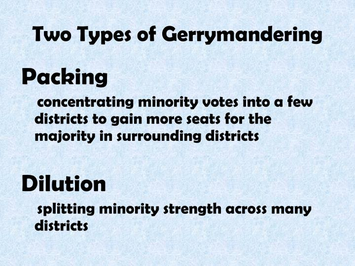 PPT APPORTIONMENT AND GERRYMANDERING PowerPoint