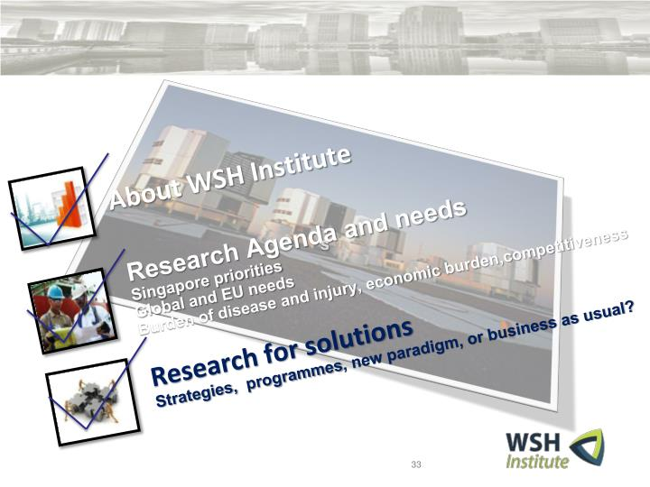 About WSH Institute