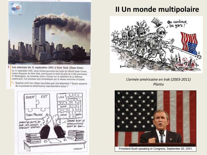 II Un monde multipolaire