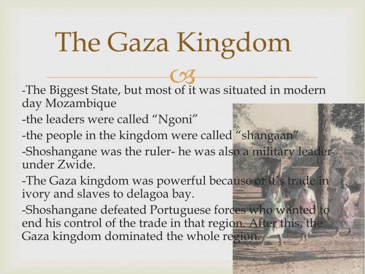 The Gaza Kingdom
